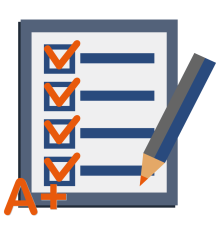 Assignment and Grade Services Icon