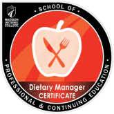 Madison College Dietary Manager Certificate