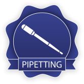 Purdue University Department of Chemistry Pipetting digital badge